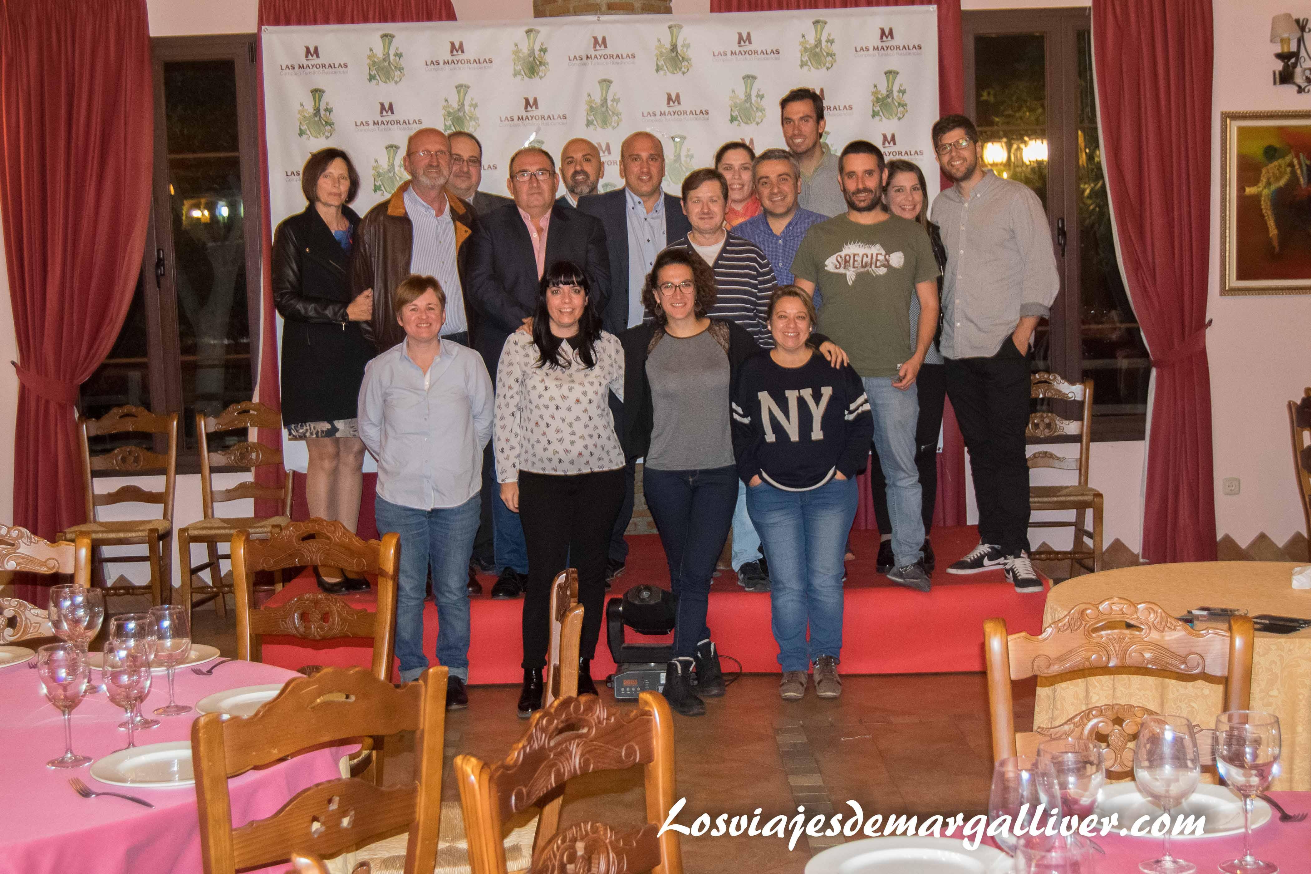 cena con los patrocinadores de #AxarquiaTB en las Mayoralas - Los viajes de Margalliver